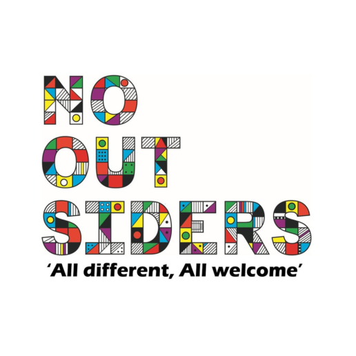 No More Outsiders logo