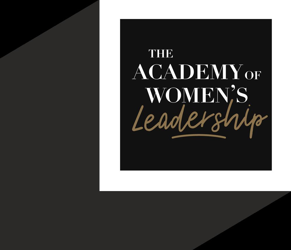 The Academy of Women's Leadership logo