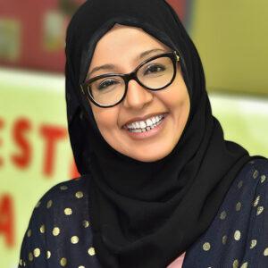 Fatma Khalid portrait