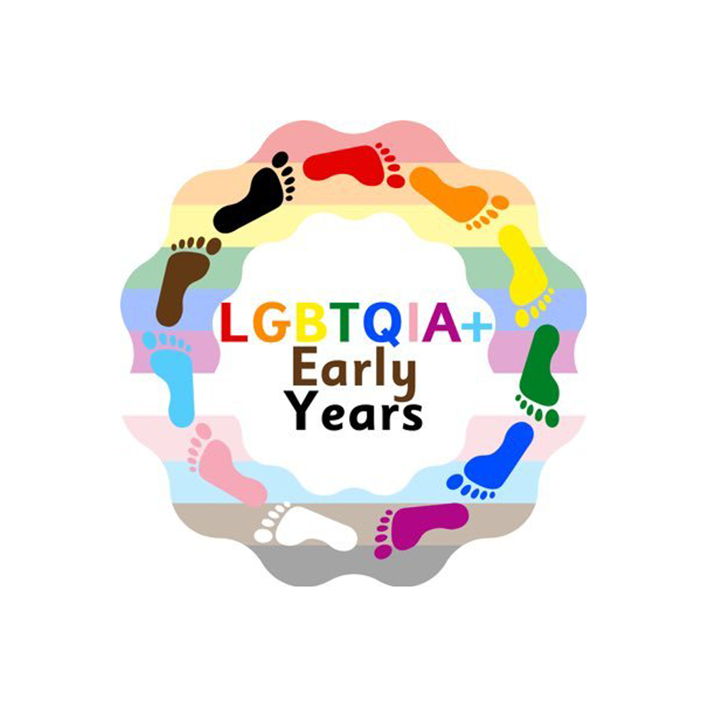 LGBTQIA+ Early Years logo