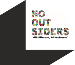 No More Outsiders logo