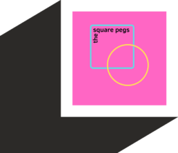The Square Pegs logo