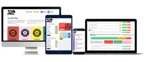 GEC App and website on different devices