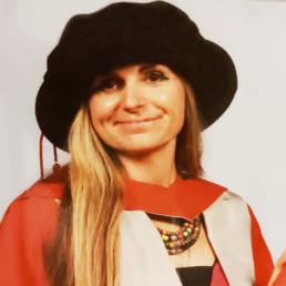 Dr Sarah Chicken portrait