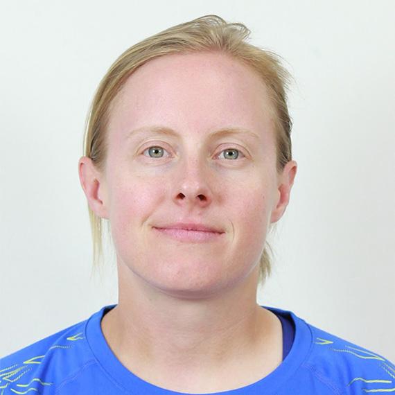 Laura Davies portrait